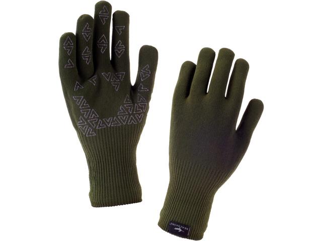Sealskinz Ultra Grip Gloves Olive